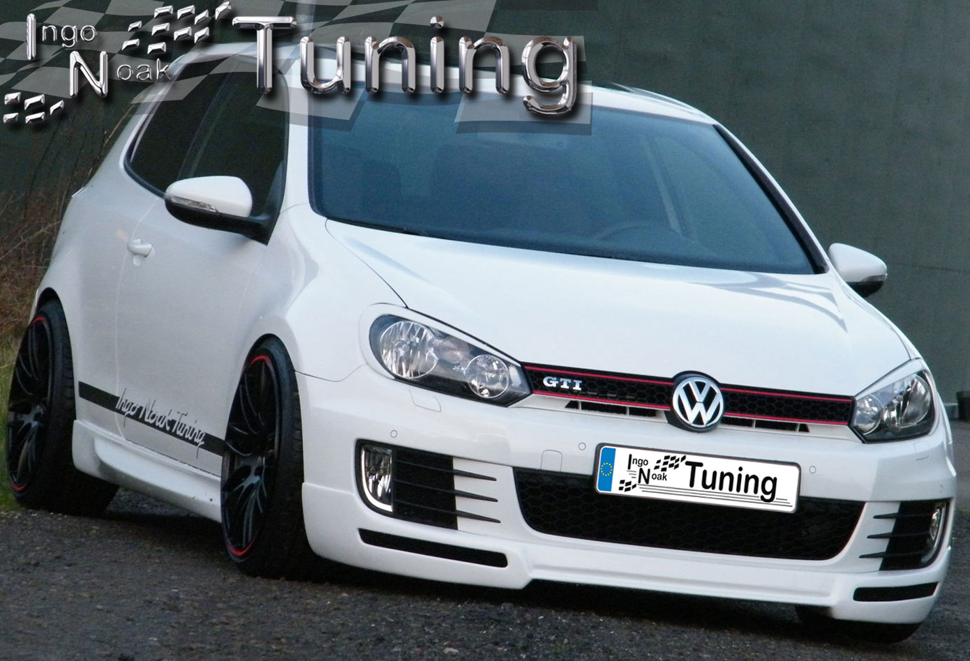 vw golf 6 gti gtd typ 1k frontspoiler frontsch rze spoiler n race ebay. Black Bedroom Furniture Sets. Home Design Ideas