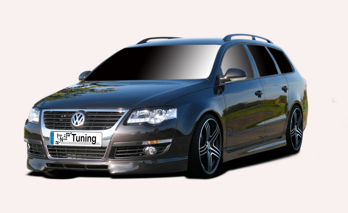 spoiler frontspoiler lippe vw passat b6 3c noak tuning ebay. Black Bedroom Furniture Sets. Home Design Ideas