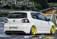Heckansatz in R32 Clean Look für VW Golf 5 1K Bj. 2003-2008